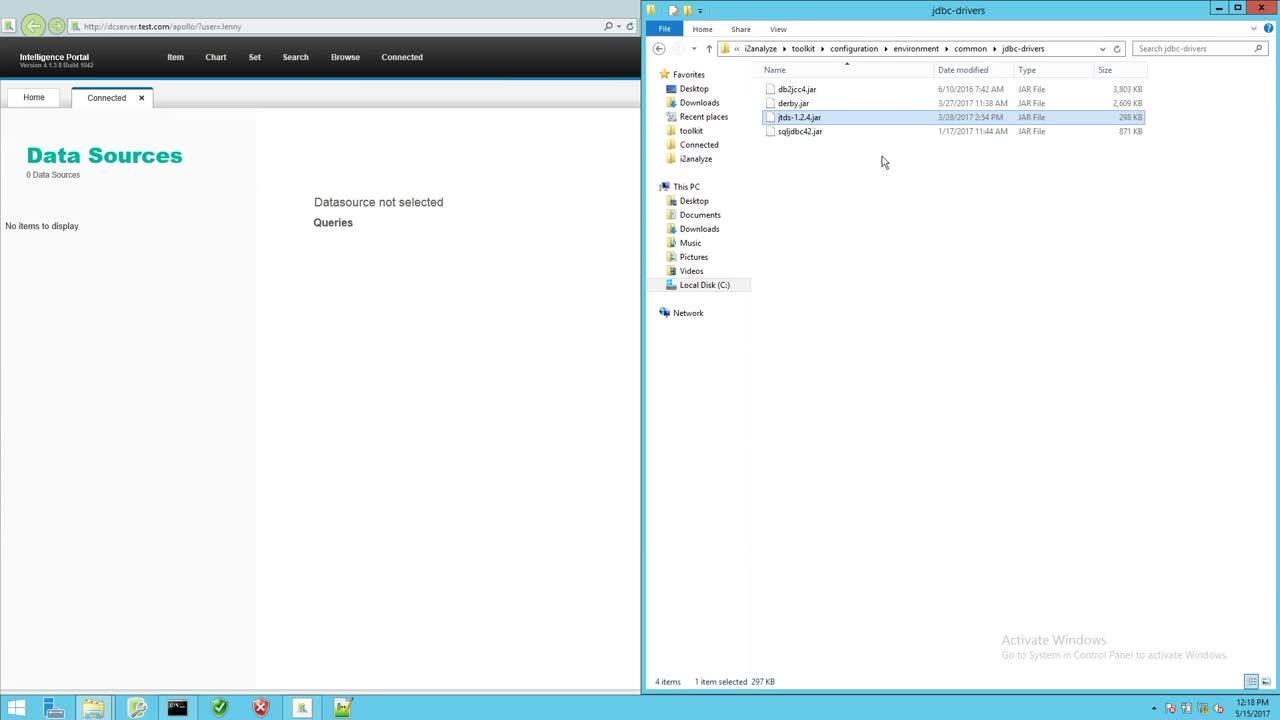 IBM i2 Analyze Connector Creator Guide - Adding our external datasource-2jWQaQ4T_JA