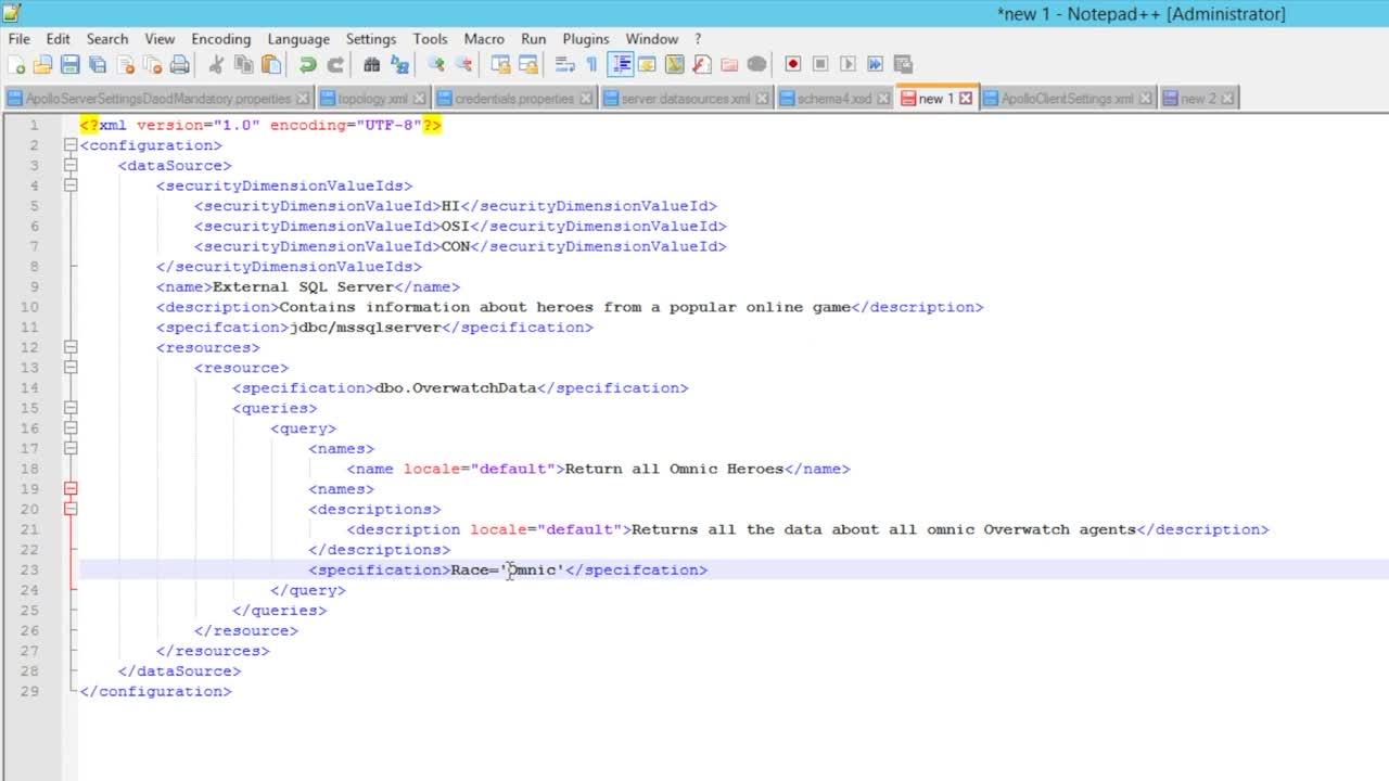 IBM i2 Analyze Connector Creator Guide - The specification element-AyYU1F5YJDY