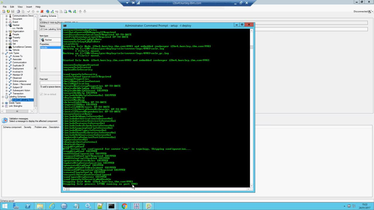 IBM i2 Analyze v4.1.3 Information Store - Changing a Schema-__O2zTAqtPI